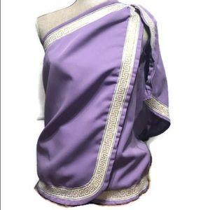 Toga top. Size 10 lavender color Greek